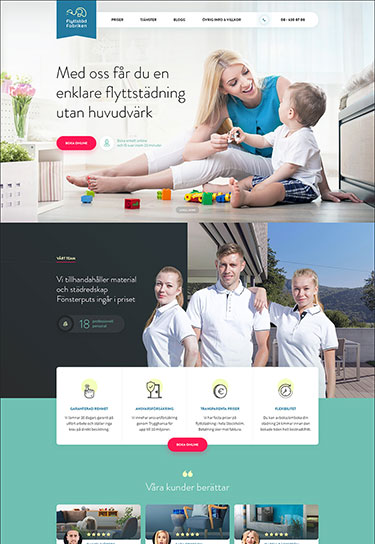 Order the creation of a corporate website for your business