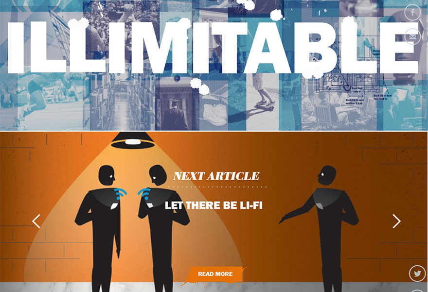 Сайт для Illimitable