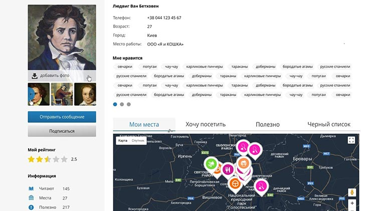 Сайт компании Lapplace