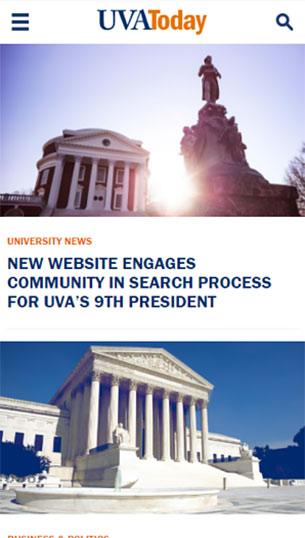 Сайт компании UVAToday